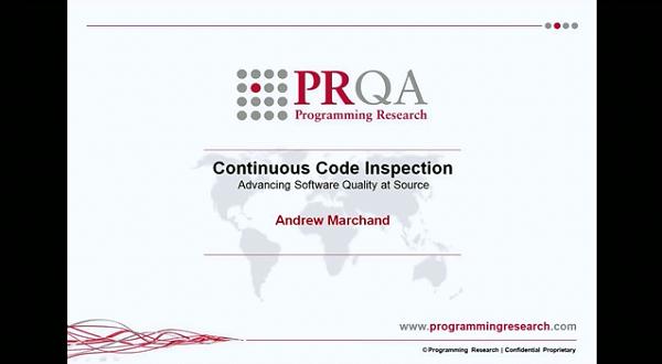 PRQA公开课四:连续代码审查