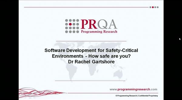 PRQA公开课三:安全的软件开发环境