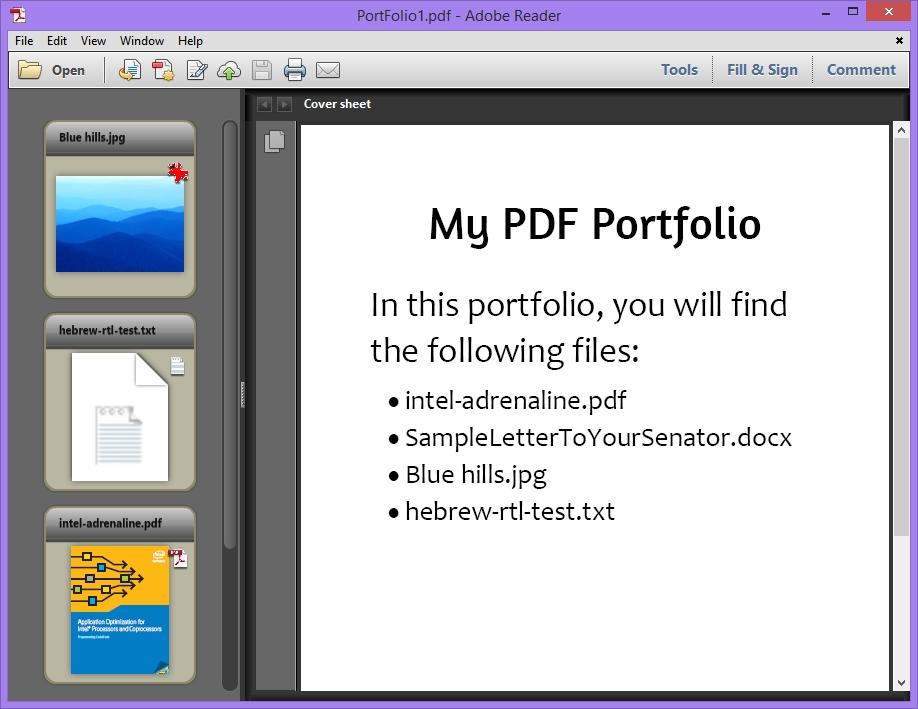 将多个文件合并成一个PDF文档