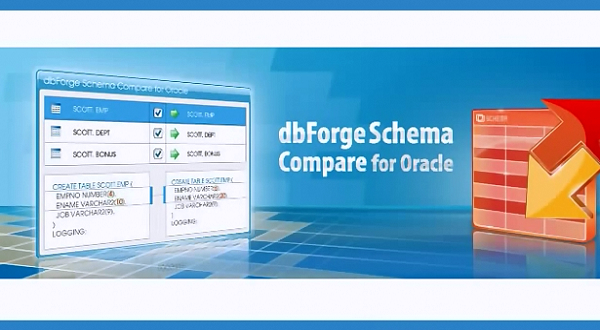 dbForge Schema Compare for Oracle产品使用介绍