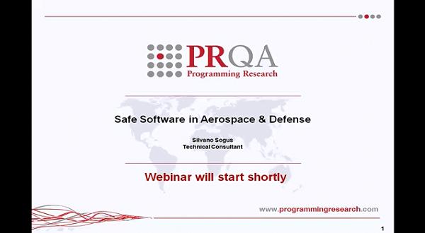 PRQA公开课七:航空航天和国防安全软件