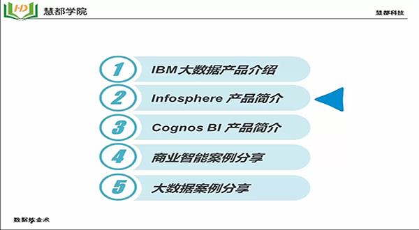 "IBM大数据公开课 —""数据炼金术"""