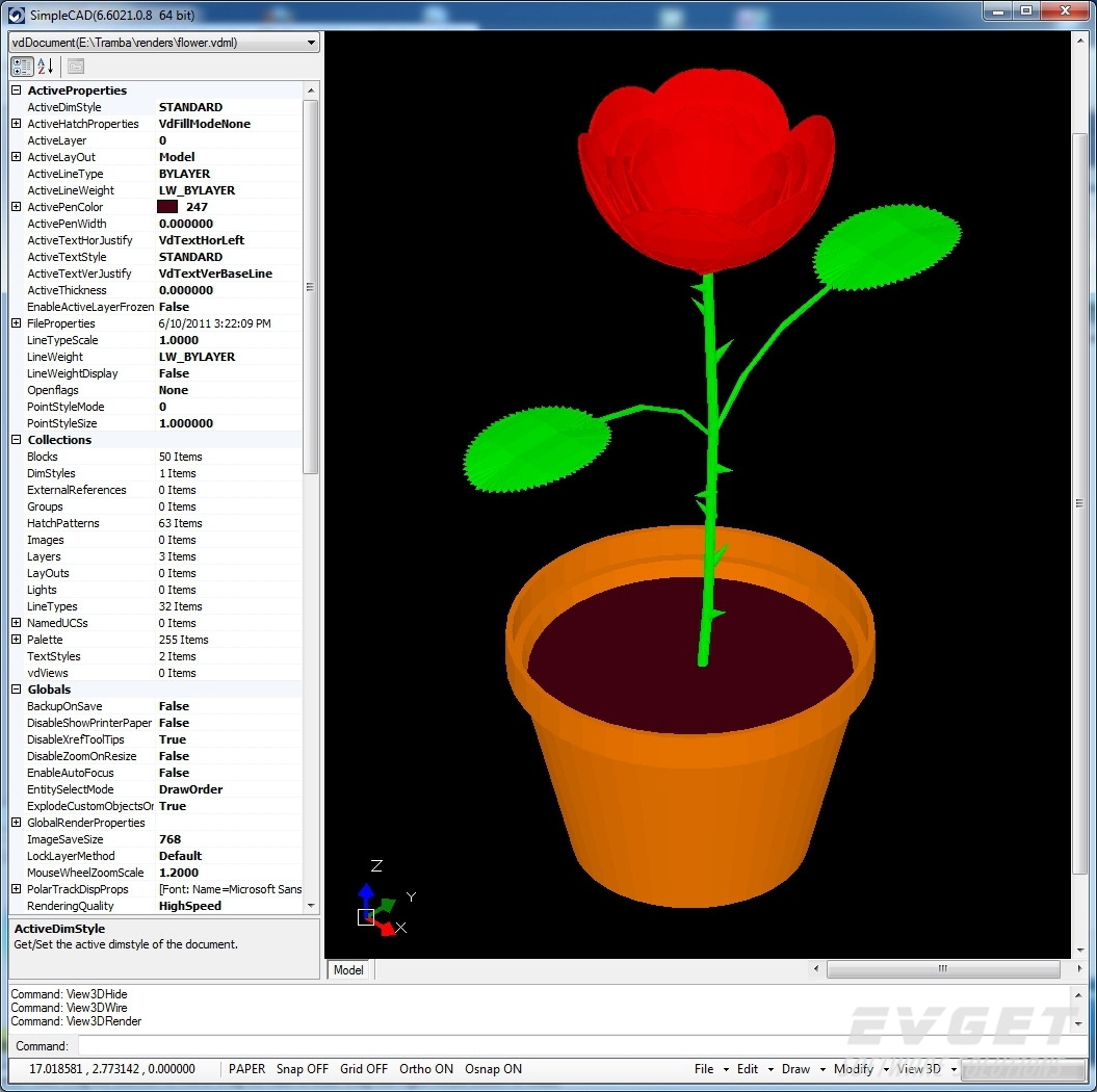 VectorDraw Developer Framework界面预览:VectorDraw Developer Framework
