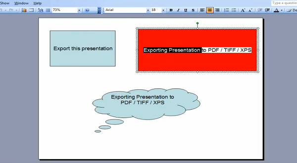 Aspose.Slides for .NET:输出演示文稿到PDF、TIFF和XPS文件