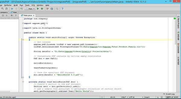 Aspose.Pdf for Java:合并API