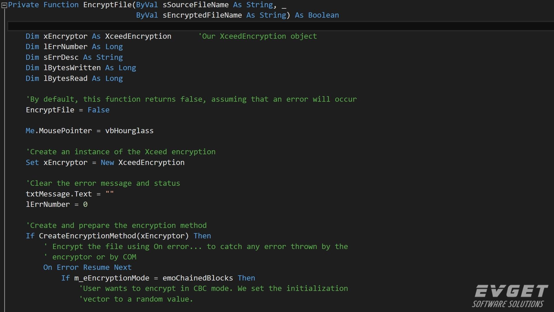 Xceed EncryptionforActiveX界面预览:Xceed-Encryption-ActiveX-Screenshot