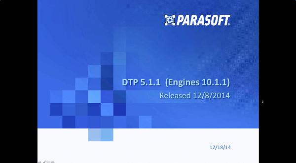 Parasoft DTP v5.1版本介绍