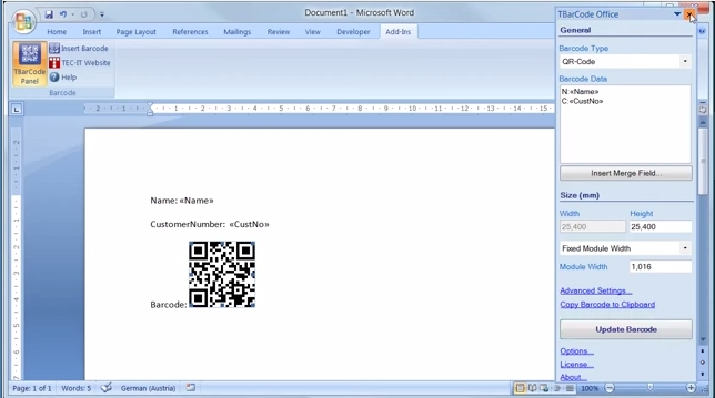 TBarCode Office界面预览:null
