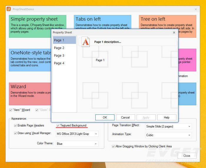 MFC界面库BCGControlBar新版功能详解二:对话框和表单