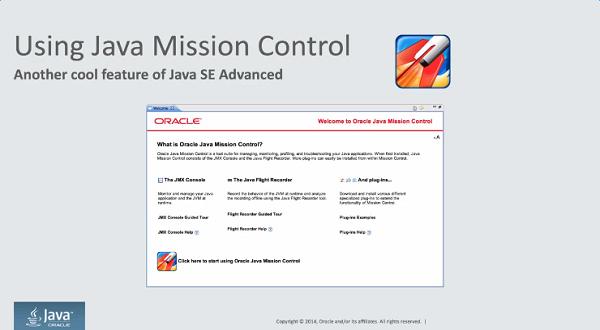 Java Mission Control:产品演示