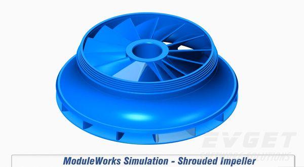 ModuleWorks技术鉴赏——闭式叶轮