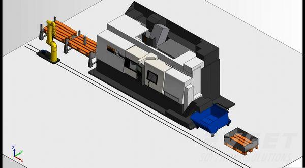 CAD/CAM控件展示(9):数控仿真