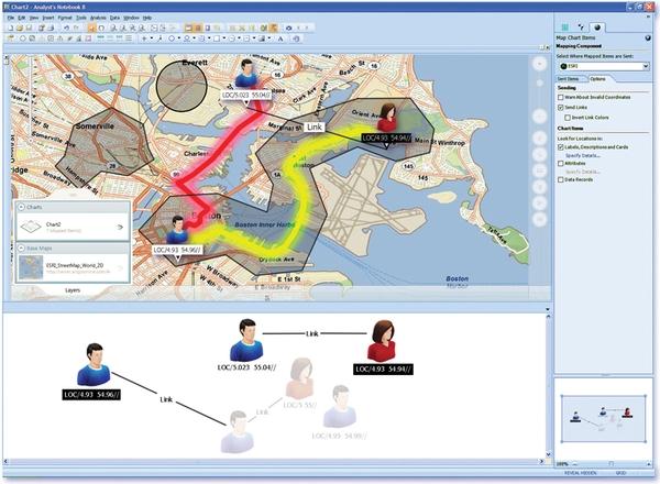 i2 Enterprise Insight Analysis界面预览:i2 Enterprise Insight Analysis