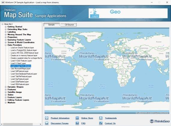 Map Suite .NET效果预览