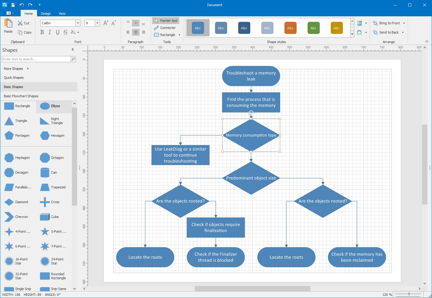 DevExpress Winforms Controls界面预览:winforms-diagram-designer