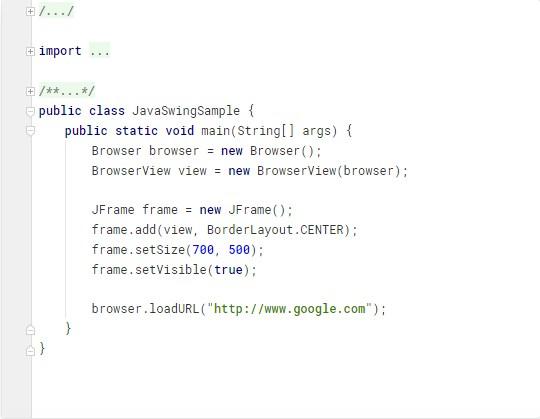 Java Swing App
