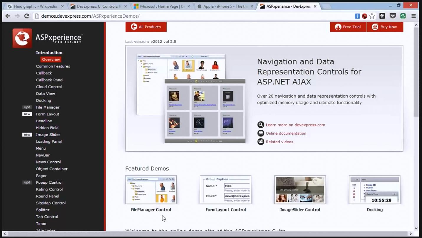 DevASP.NET图像滑动条,迅速提升网站质量