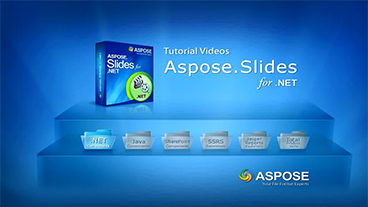 Aspose.Slides for .NET入门教程合集