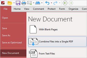 PDF-XChange Editor使用教程:如何将多个文档合并为一个PDF?