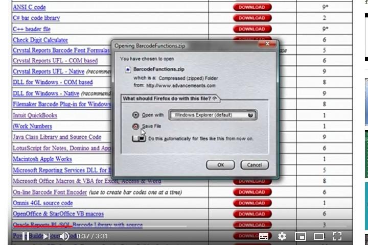 IDAutomation Excel中的条形码字体(八):从头开始构建Excel条形码生成器