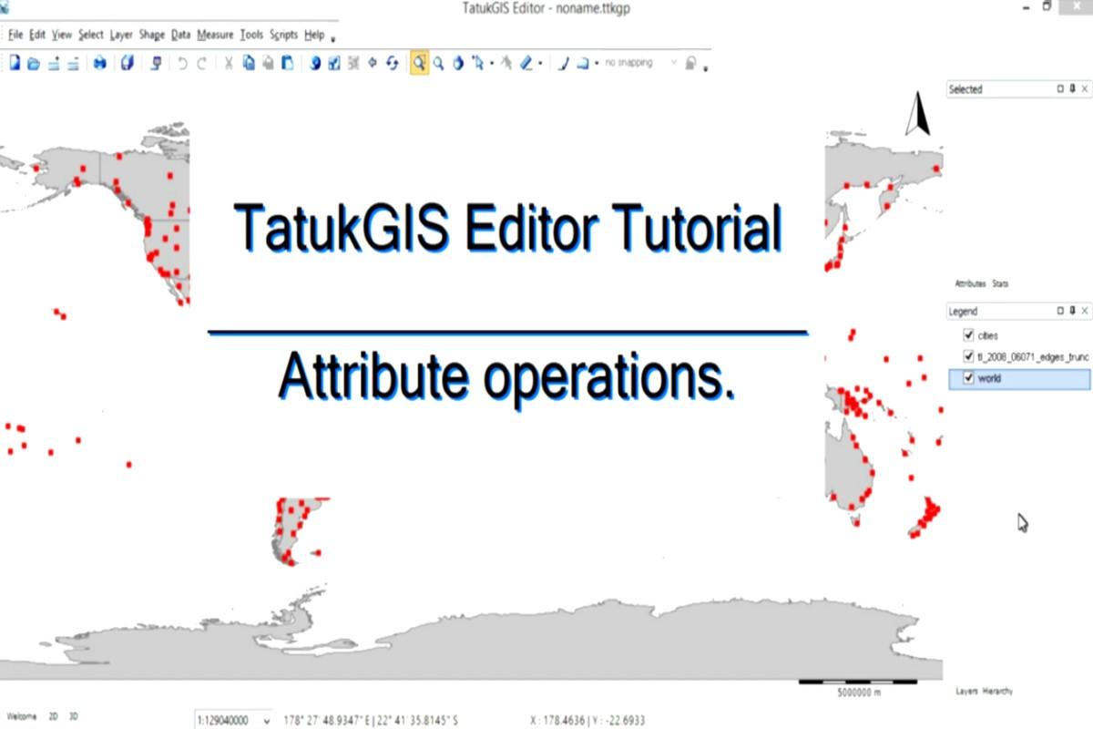 TatukGIS Editor 属性操作