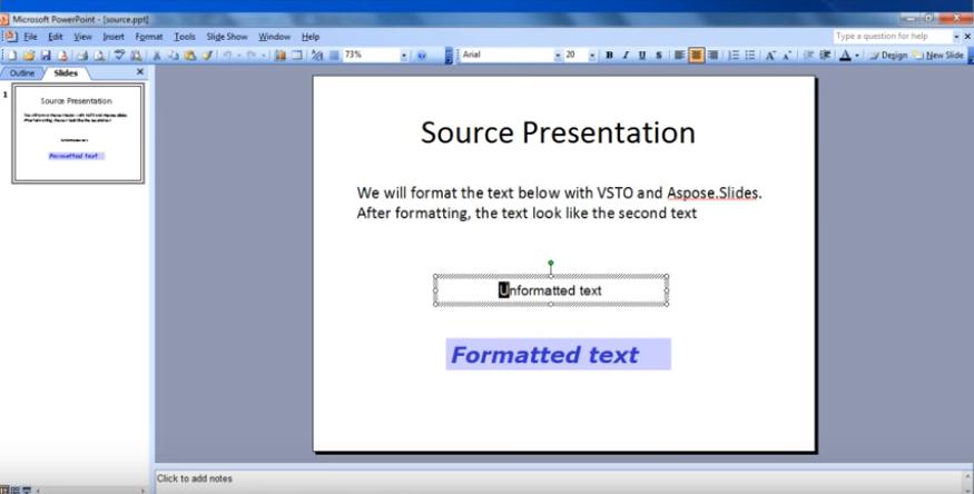 Aspose.Slides for .NET视频教程:格式化演示文稿中的文本