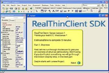 RealThinClientSDK v9.50 for Delphi 2010试用版下载