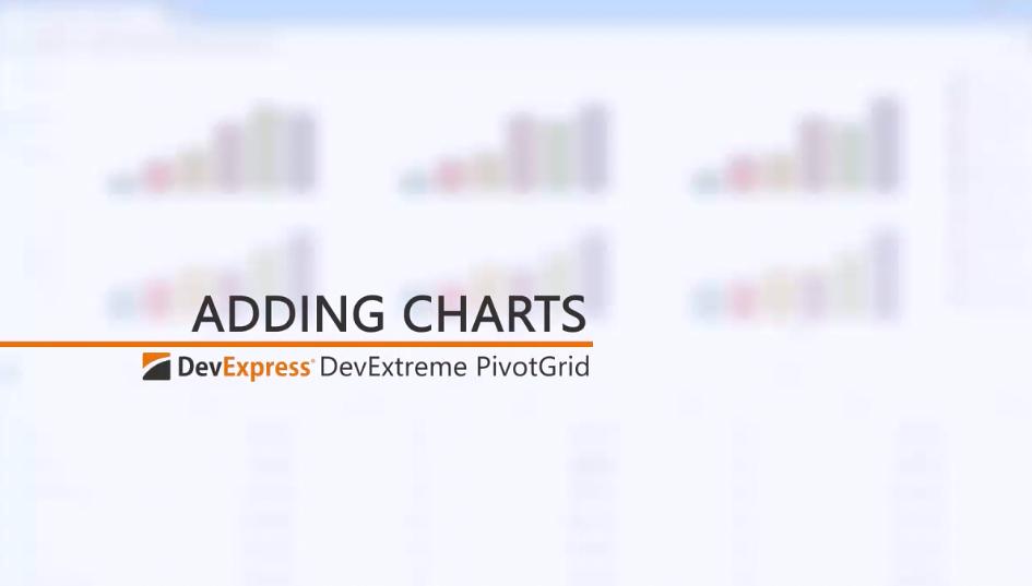 DevExtreme视频教程:将图表添加到HTML5 PivotGrid