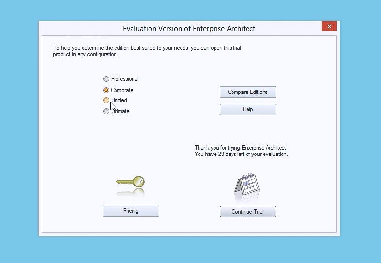 Enterprise Architect视频教程:完成第一次运行