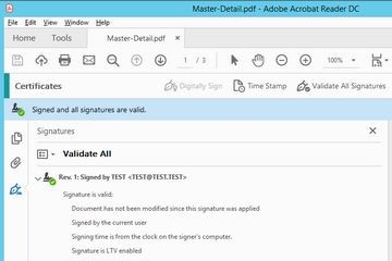 FastReport报表中PDF导出的新增功能:数字签名的应用