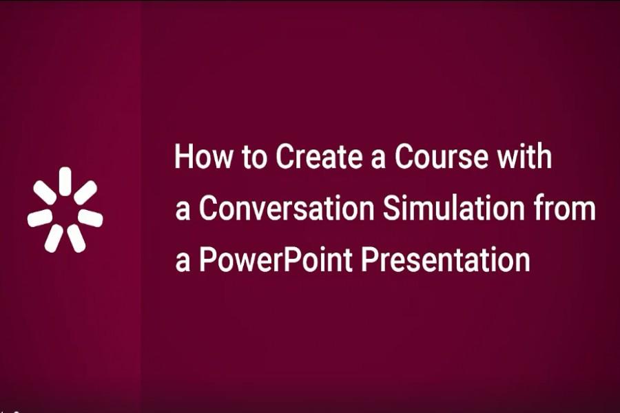 iSpring Suite视频教程:如何用PowerPoint演示文稿创建对话模拟课程