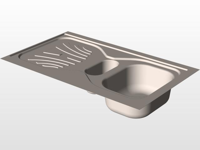 用SolidWorks设计一个厨房水槽!