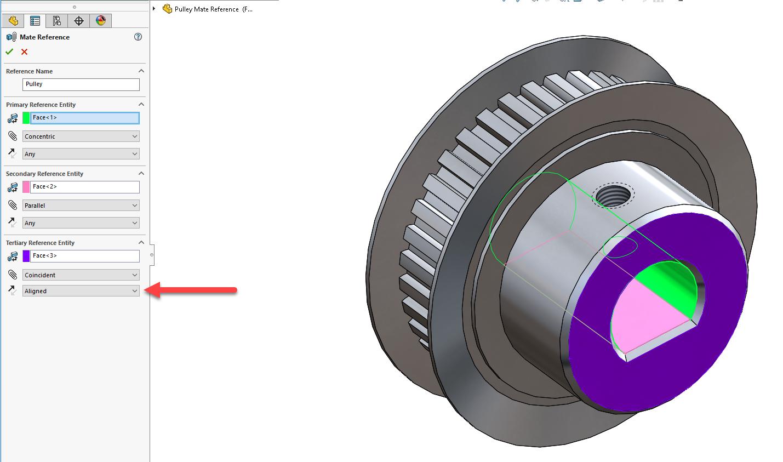 SolidWorks如何创建和使用配合参考?