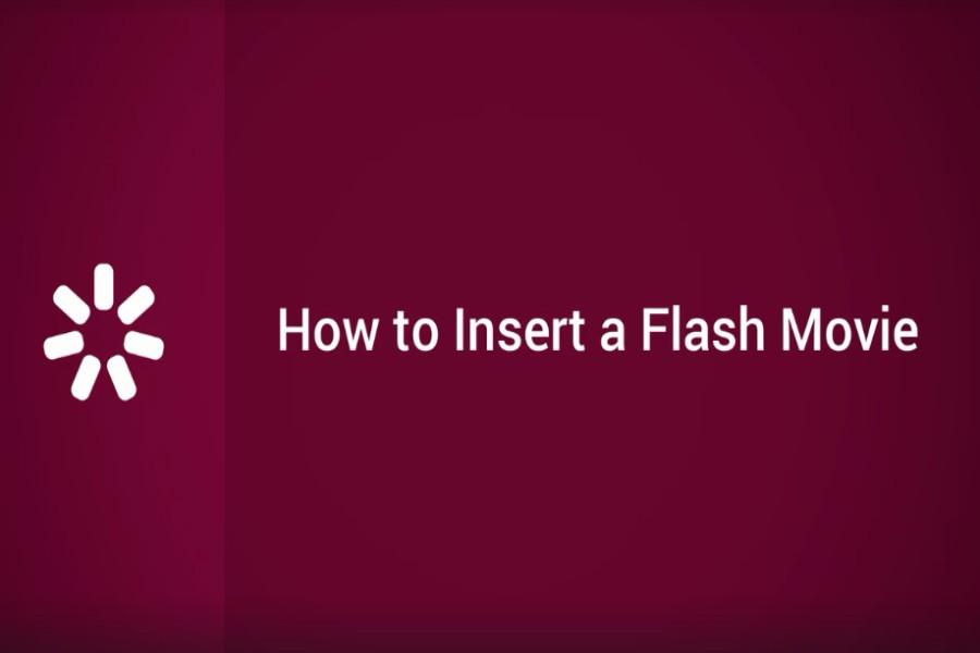 iSpring Suite  视频教程:如何插入Flash电影