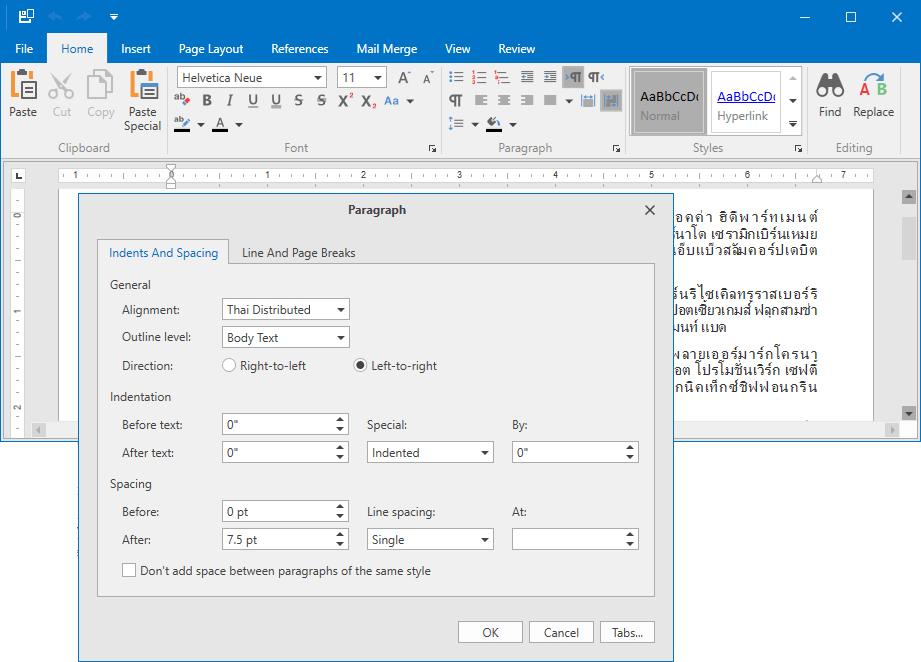 DevExpress WPF v19.1新版亮点:Rich Text Editor/Ribbon控件新功能