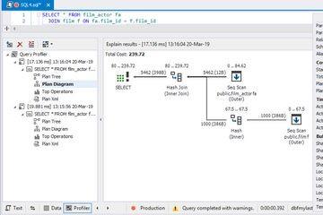 PostgreSQL GUI的新版本dbForge Studio for PostgreSQL v2.1发布,新增连接选项和优化查询