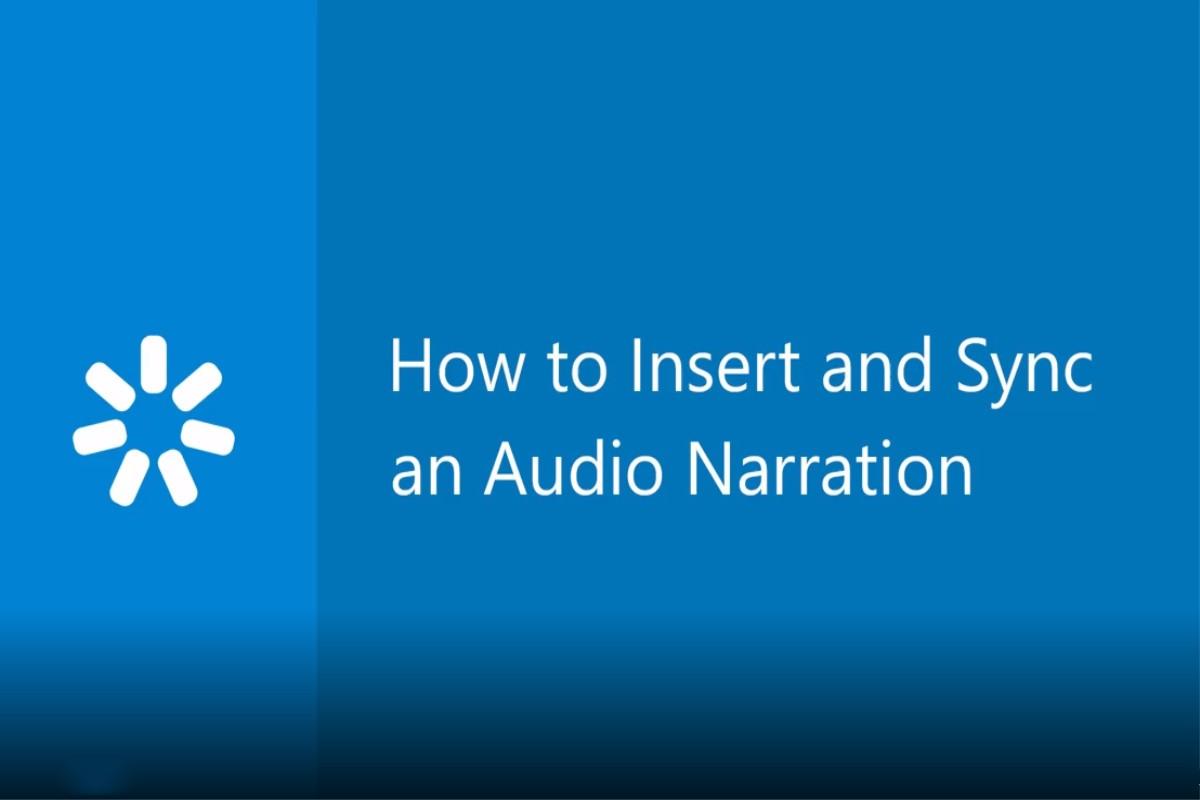 iSpring Converter Pro教程:如何插入和同步音频旁白