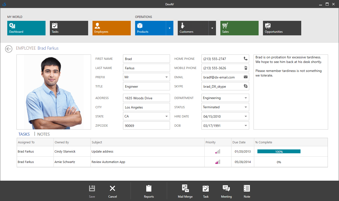 DevExpress WPF Controls预览:WPF Tablet触摸应用程序