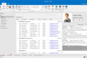DevExpress Universal Subscription预览:WPF Office Inspired Application desktop hd