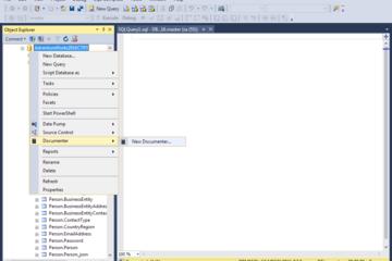 dbForge Documenter for SQL Server预览:SSMS集成