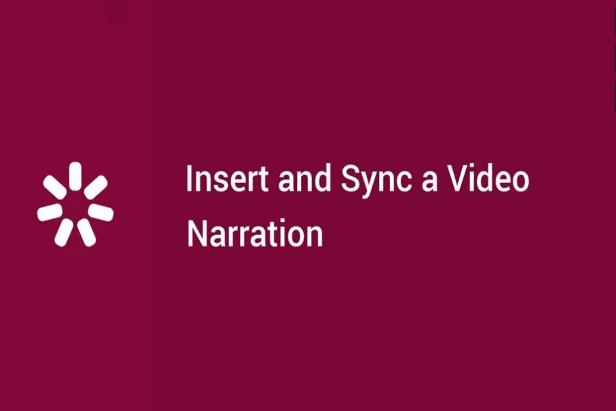 iSpring Suite  视频教程:如何插入和同步视频旁白