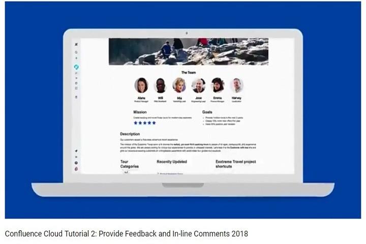 Confluence系列视频:提供反馈和在线评论2018