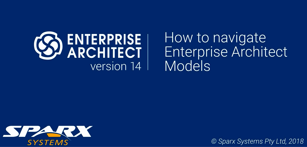 Enterprise Architect视频教程:浏览Enterprise Architect模型