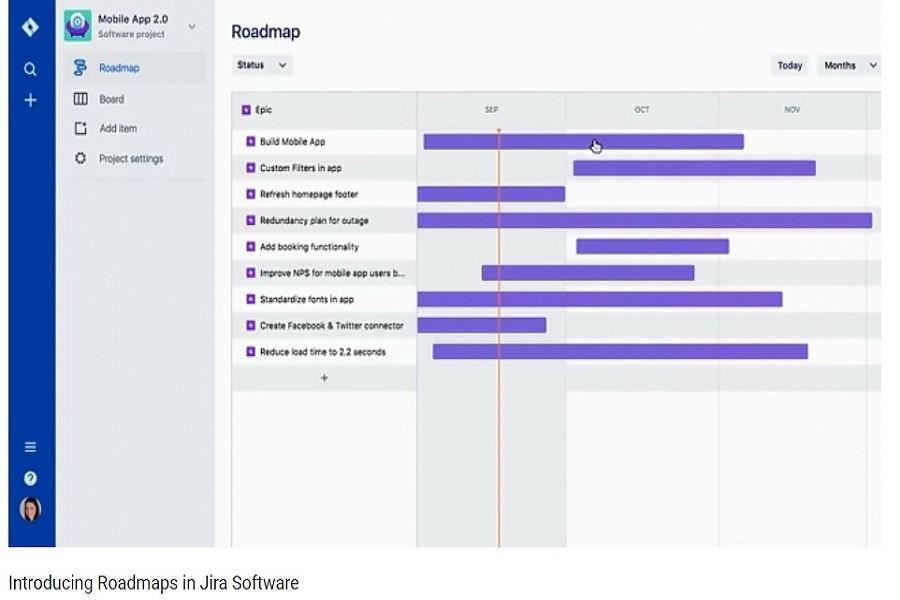 如何在Jira Software中引入路线图?