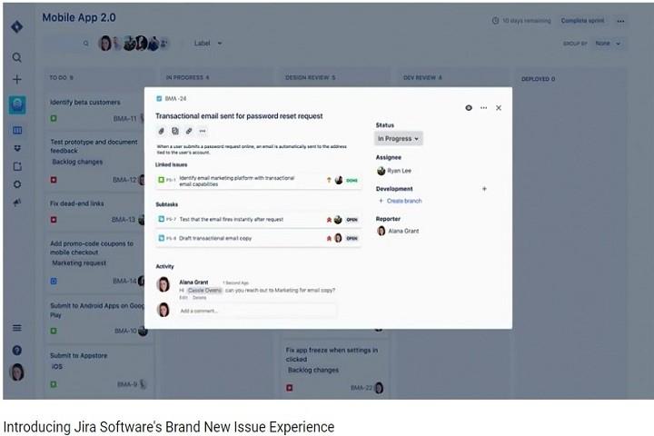 介绍Jira Software的全新问题体验功能