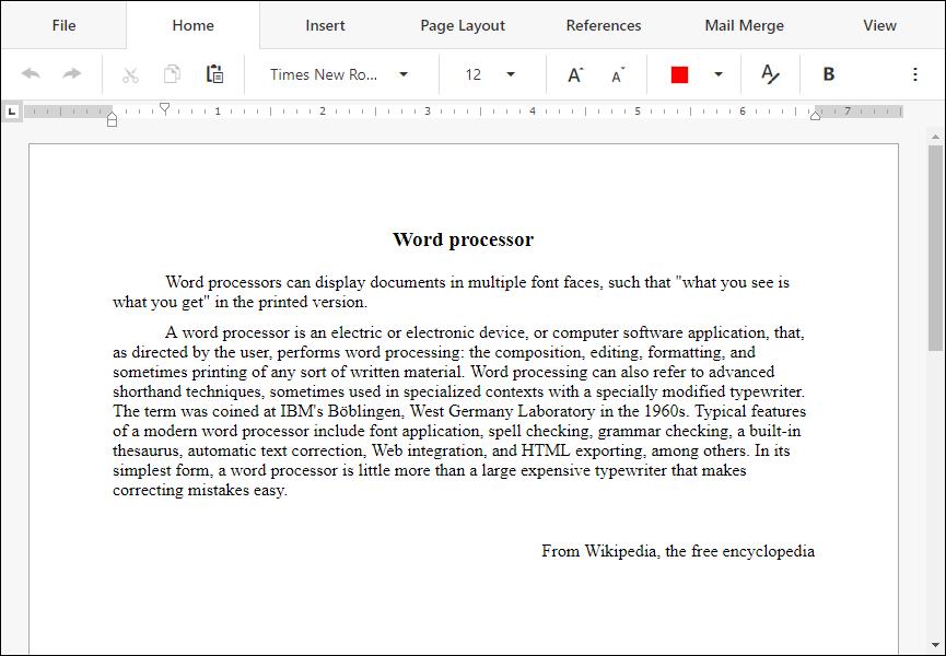 DevExpress ASP NET Core v19 1版本亮点:Rich Text Editor