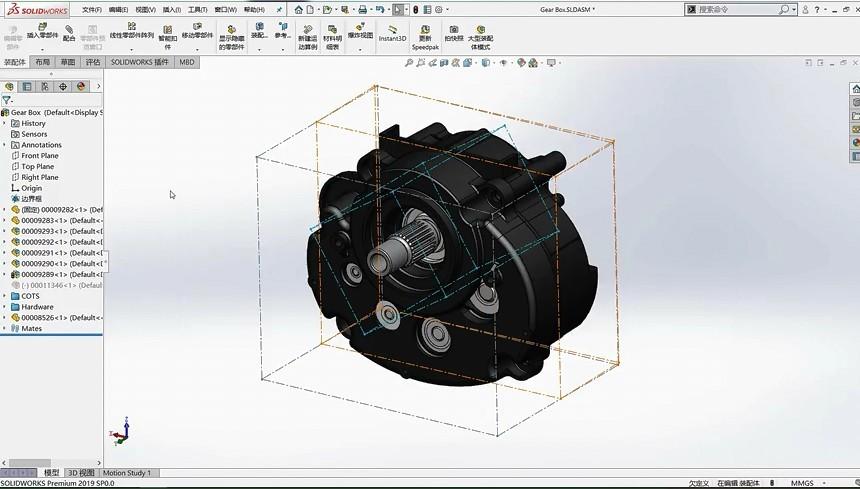5分钟学会SolidWorks模型边界框结合配置的高级应用!