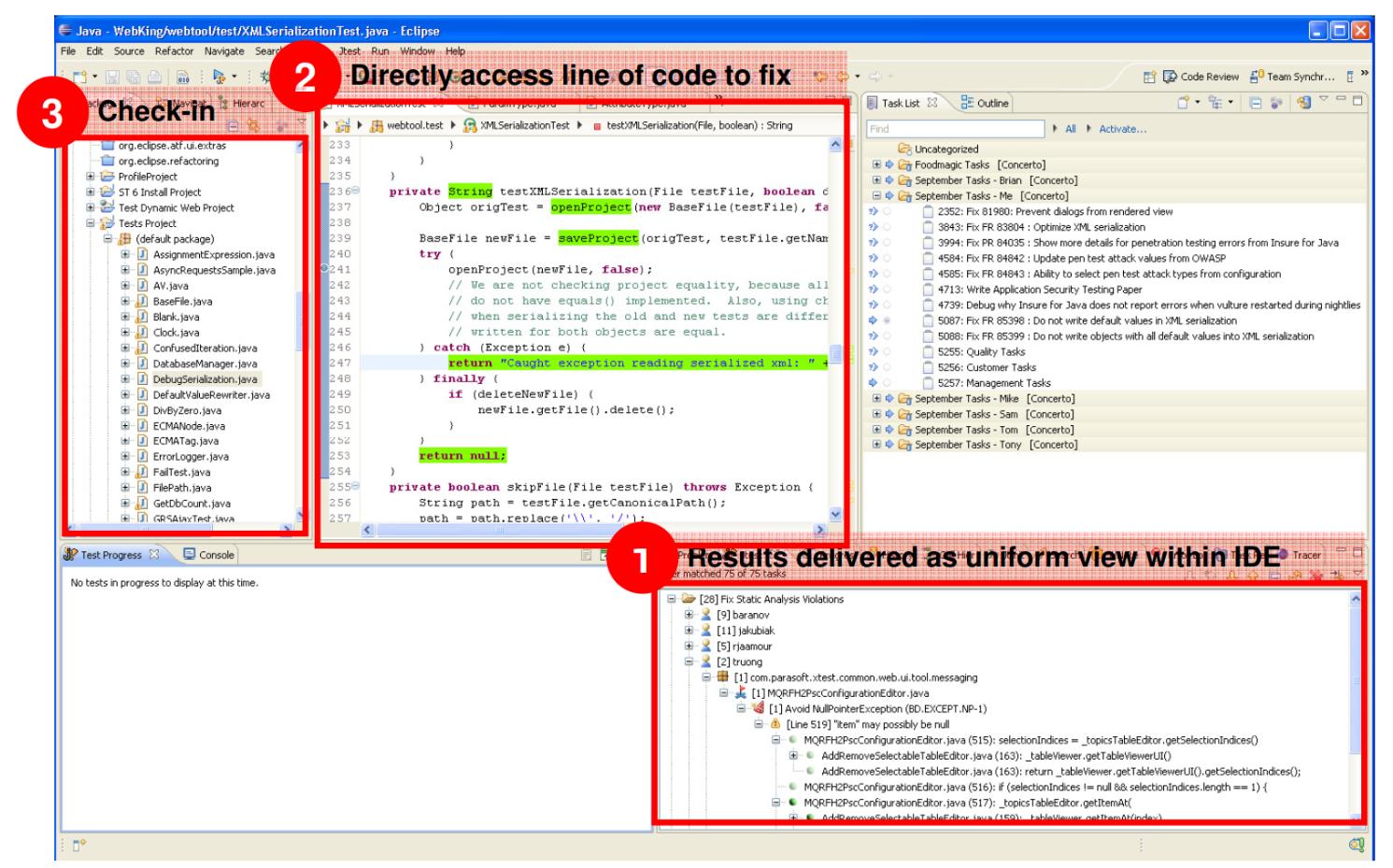 Parasoft教您如何将静态分析集成到日常工作流程中!