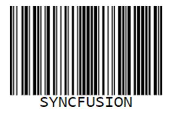 解读:Syncfusion的新JavaScript条形码生成器控件