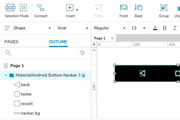 将草图设计导入Axure RP这么省时的操作,学会你就是最闲的Web AP设计师